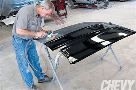 color sanding process chevy high performance magazine