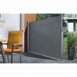 Paravent D Extérieur : paravent ext rieur r tractable 150 x 300 cm avec toile polyester ~ Teatrodelosmanantiales.com Idées de Décoration