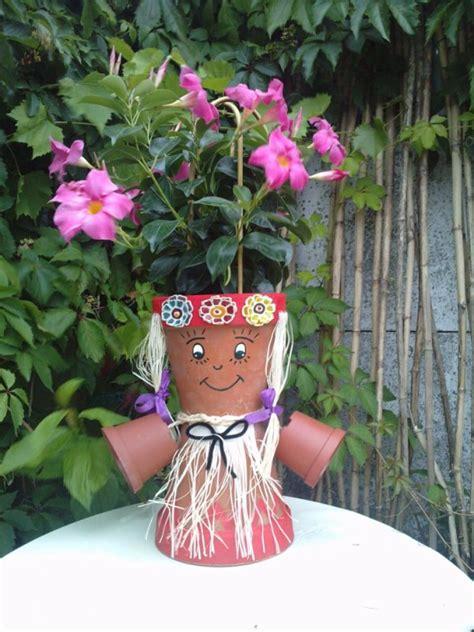 mes personnages en pot de terre cuite les bijoux de la fee fidji et ses autres passions