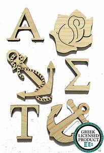 alpha sigma tau wood cut outs for sorority crafts and With alpha sigma tau letters