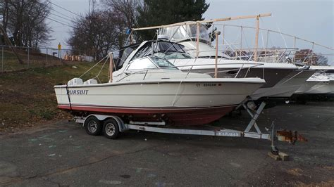 Pursuit Boats Ct by 1986 Pursuit 2550 Wa Power Boat For Sale Www Yachtworld