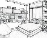 Perspective Drawing Sketch Point Simple Drawings Heroes sketch template