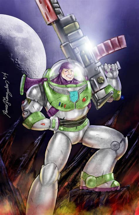 buzz lightyear space marine  grapiqkad  deviantart