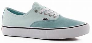 Wanted Shoes Size Chart Vans Authentic Pro Skate Shoes Aqua Haze Soothing Sea