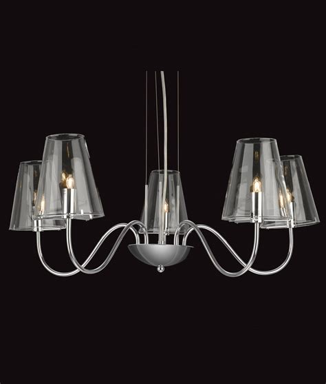 shades of light chandeliers chandelier with chrome clear glass