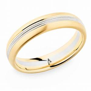 274420 christian bauer 18 karat two tone wedding ring for Wedding ring christian