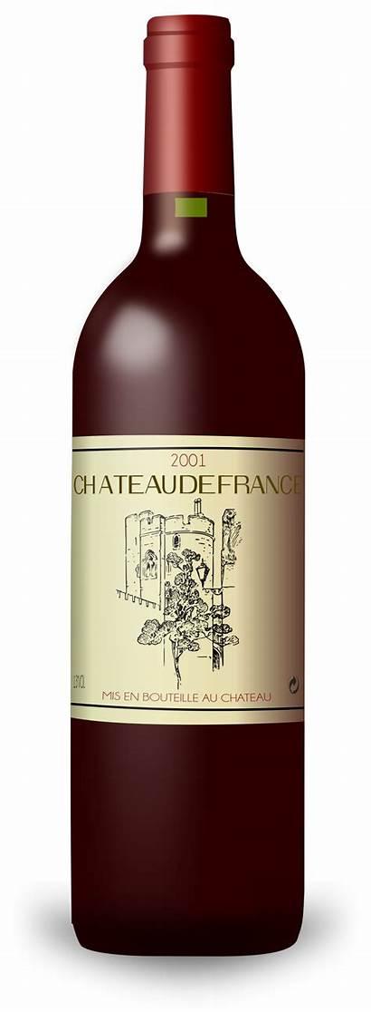 Wine Bottle Clip Clipart French Bordeaux Glasses