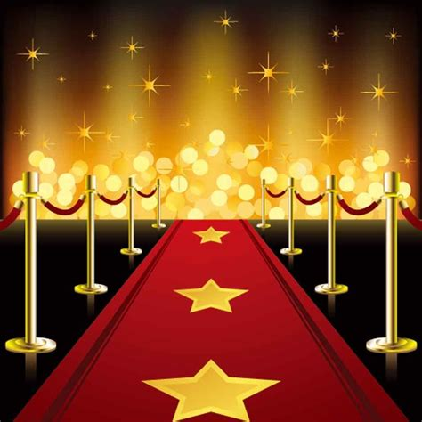 red carpet backdrops gold glitter backdrop steps