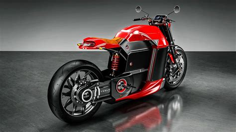 Tesla Electric Motorcycle Imagined by Jans Slapins Has ...