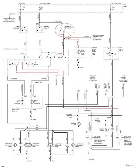 Need Wiring Diagram For Ford Brake Light