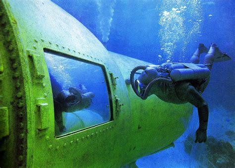 Historical Underwater Habitat Showcase Continental Shelf