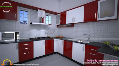 modular kitchen bedroom dining interiors  kerala kerala home design  floor plans