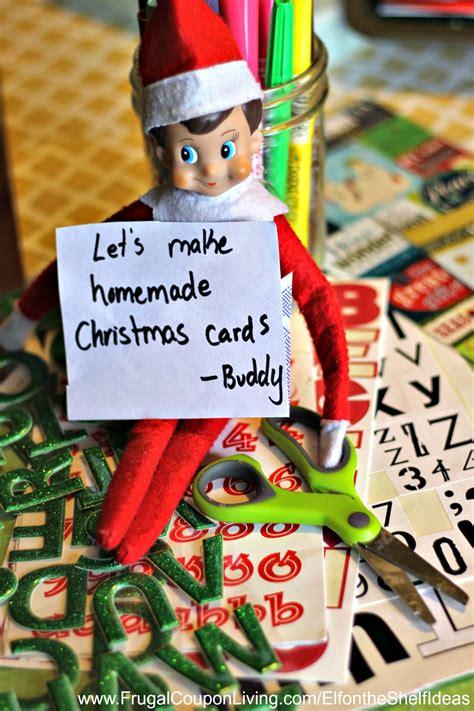 elf   shelf ideas elf  christmas cards