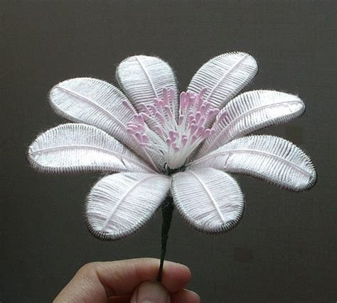 diy beautiful flowers  wire  thread