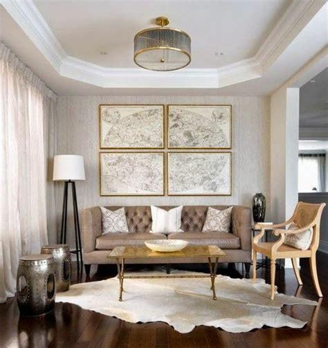 Wohnzimmer Deko Gold  Raum Und Möbeldesign Inspiration