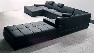 canape d39angle cuir panoramique canape d39angle cuir With canape design tres confortable