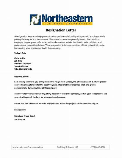 Resignation Letter Template Simple Examples Example Resign