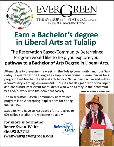 evergreen state college tulalip news