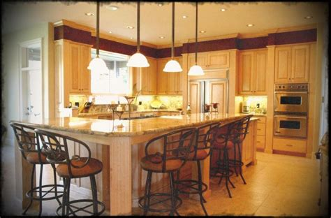 kitchen island design tips small kitchen design with hanging cabinet and bright 5041