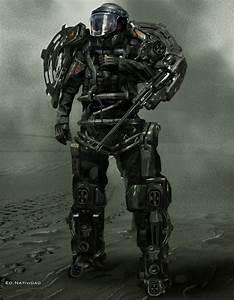 future, warrior, future soldier, futuristic, cyberpunk ...
