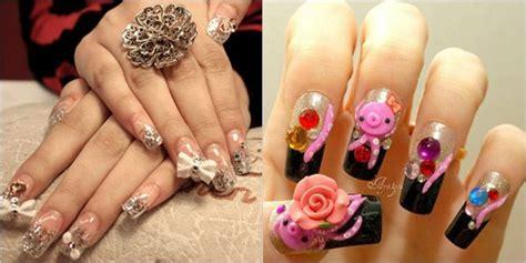 Japanese 3d Nail Art Designs For Girls