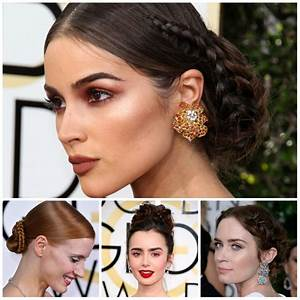2017 Celebrity Braided Updo Hairstyles for Prom – New ...