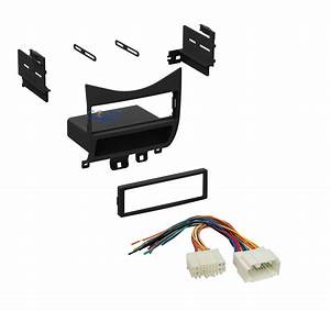Single Din Car Radio Stereo Dash Kit Wire Harness For 2003