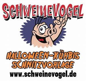Kürbis Schnitzvorlagen Zum Ausdrucken Gruselig : halloween mit schweinevogel schweiniversum ~ Markanthonyermac.com Haus und Dekorationen