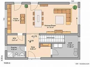 Haus Grundriss Ideen Einfamilienhaus : einfamilienhaus grundriss ~ Lizthompson.info Haus und Dekorationen