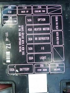 97 Honda Accord Fuse Box Layout