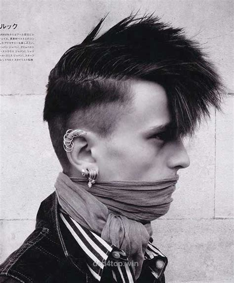 cool punk hairstyles for rebel guys mens hairstyles 2018