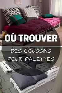 Coussin Salon De Jardin Palette : coussin pour palette o trouver des coussins pour meubles en palette palette pinterest ~ Teatrodelosmanantiales.com Idées de Décoration
