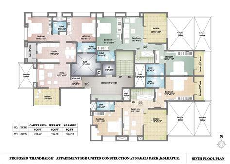building floor plan apartment building plans