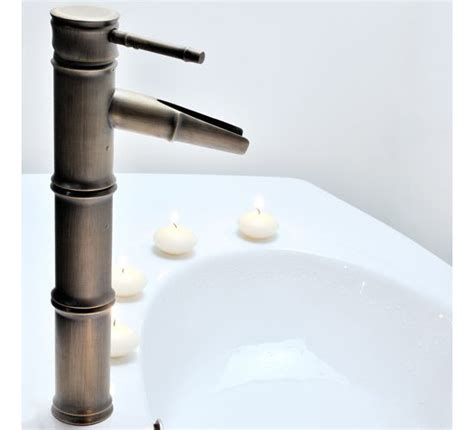 Light In The Box Bathroom Faucets Lightinthebox Single Handle Bathroom Bamboo Vessel Filler