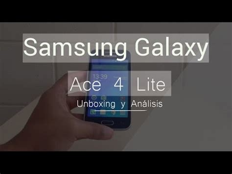 Softcase Galaxy Ace 4 Galaxy V unboxing an 225 lisis samsung galaxy ace 4 lite sm g313ml