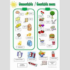 Uncountable Countable Nouns Worksheet  Free Esl Printable Worksheets Made By Teachers
