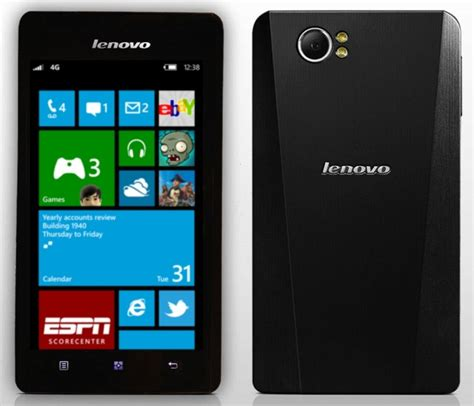 windows phone lenovo to release a windows phone and wearable later in 2014