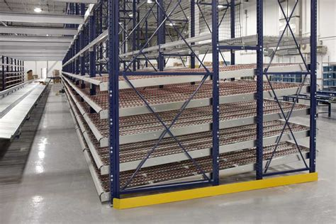 pallet flow rack 3d storage solutions gta wheel roller plastic steel