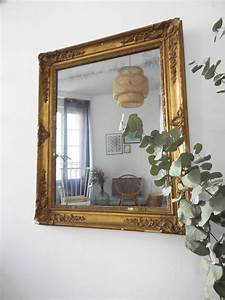 Miroir Vénitien Ancien : miroir ancien dor rectangulaire ~ Preciouscoupons.com Idées de Décoration
