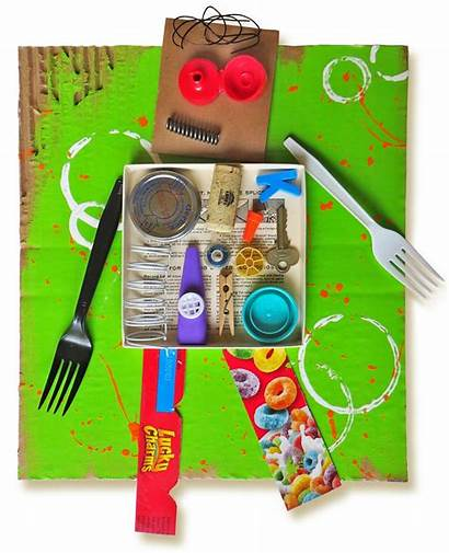 Recycled Earth Craft Robots Crafts Projects Castell