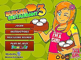 jeux de cuisine burger restaurant burger restaurant 3 un des jeux en ligne gratuit sur