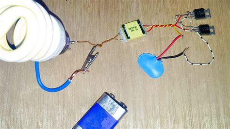 led light bulb run a 220 volt light bulb on a 9 volt battery win or