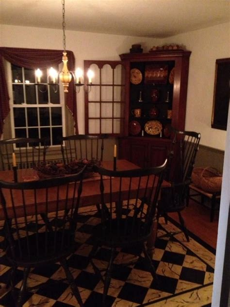 beautiful  dining rooms pinterest primitives  colonial