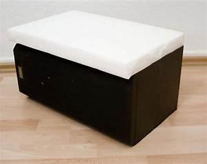Schaumstoff Bezug Nähen : kinderhocker aus lautsprecherboxen handmade kultur ~ A.2002-acura-tl-radio.info Haus und Dekorationen