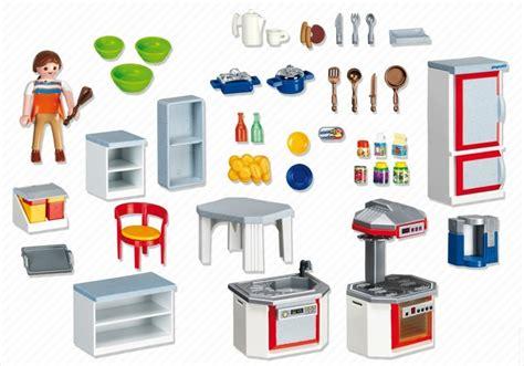 playmobil cuisine moderne playmobil set 4283 kitchen with dinnette set klickypedia