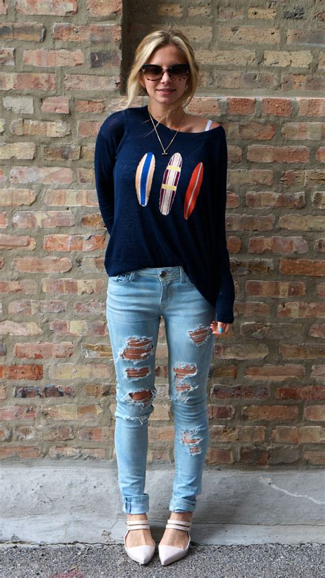 Cute outfits with ripped jeans tumblr u2013 Fashion | MY STYLE | Pinterest | Fashion