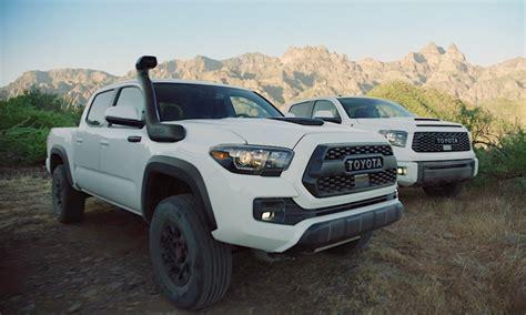 2019 Toyota Tacoma Trd Pro And Tundra Trd Pro All The