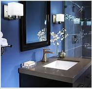 Navy Blue Interior Design Idea Navy Blue Interior Design Idea Navy Blue Bathroom On Inspiration