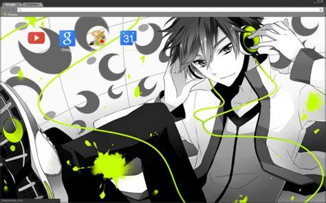 Sick Gaming Anime Boy Chrome Theme Themebeta