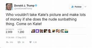Gross Donald Trump tweet about Kate Middleton resurfaces ...